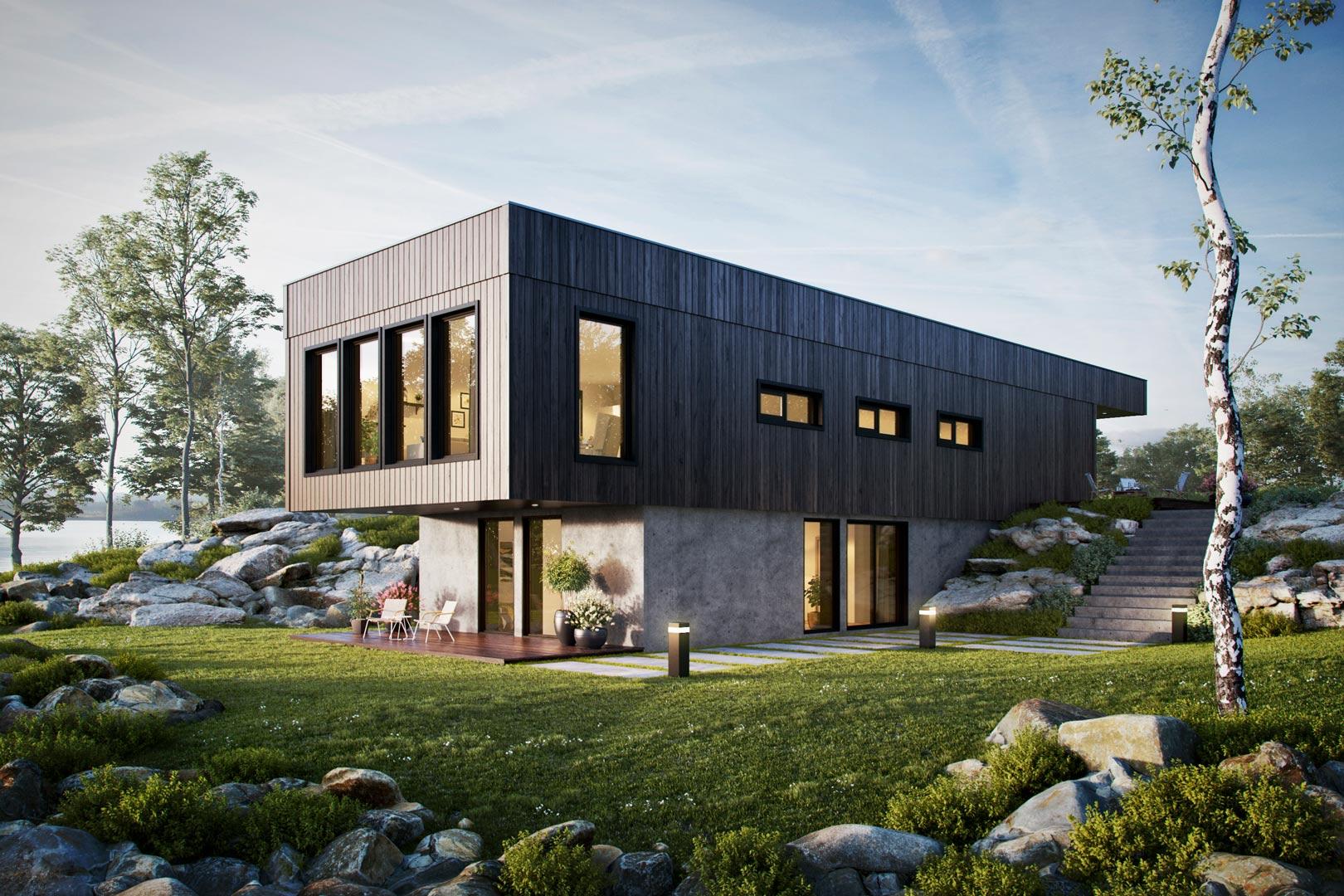 3D Visualisering 3D Norge hjem